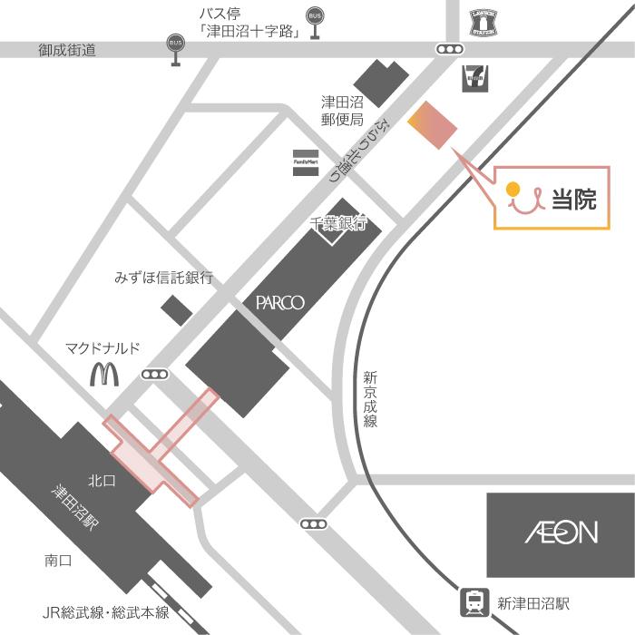 千葉県船橋市前原西2丁目21−7 津田沼ビル2F